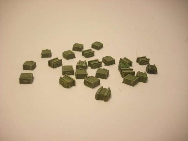 SMALL AMMO BOXES x 24