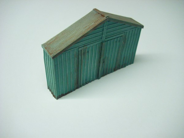 METAL CLAD WORKSHOP GABLE END