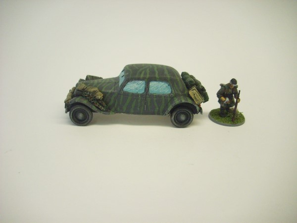 WEHRMACHT CITREON TRACTION AVANT