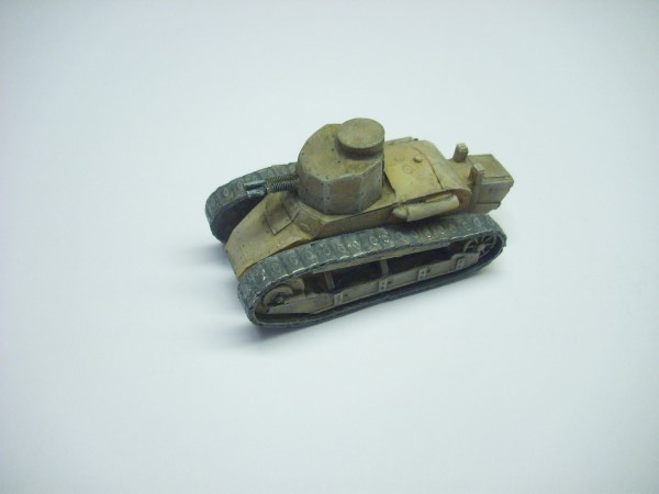 1:56  FIAT 3000 TANK WITH TWIN 6.5mm TURRET