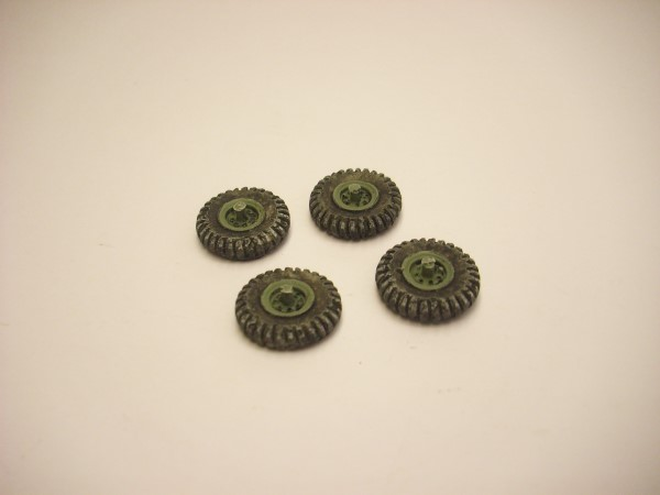 WHEELS FOR CMP TRUCKS x 4