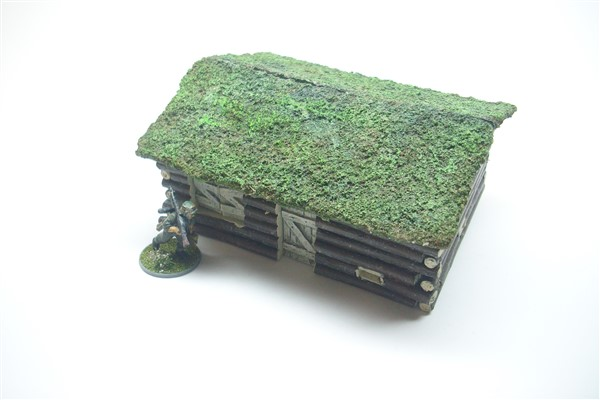 1:56  EASTERN FRONT LOG CABIN with turf roof