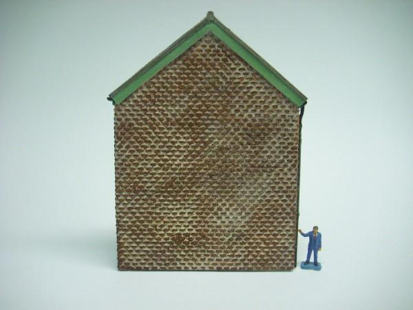 LOW RELIEF BRICK BUILDING GABLE END