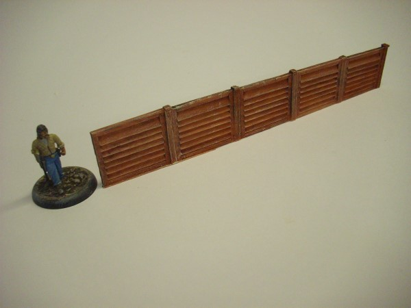 5 PANEL WOODEN FENCE
