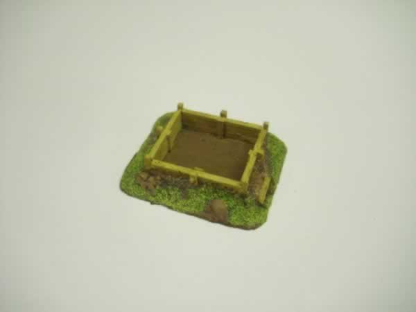 WOOD LINED RIFLE PIT # 2
