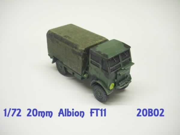 1:72  ALBION FT11 SUPPLY TRUCK