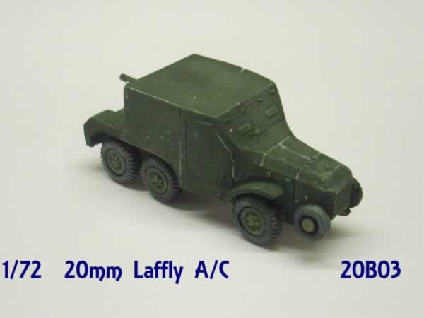 LAFFLY W15 FRENCH ARMOURED CAR