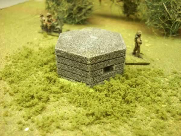 CONCRETE PILL BOX