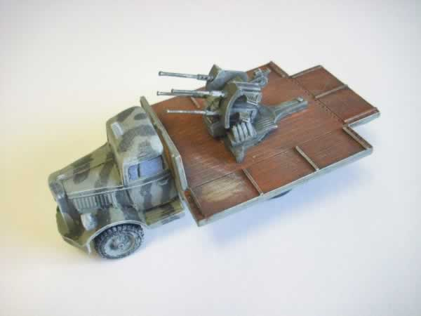 1:56  OPEL BLITZ FLAT BED WITH 20mm AA