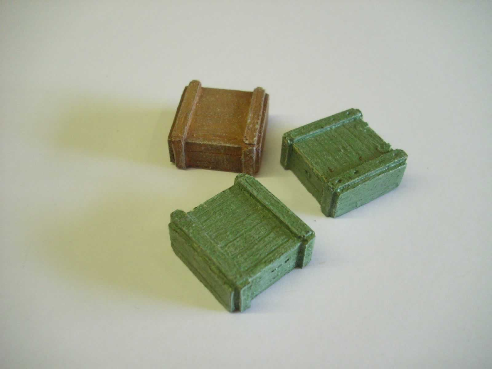 WEAPONS/AMMO BOXES x 3