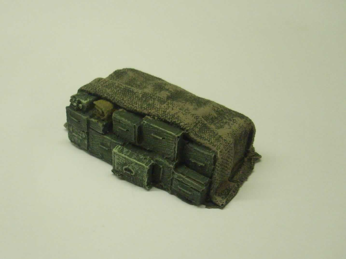 STACKED/COVERED AMMO BOXES